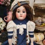 Антикварная кукла Кестнер 154, рост 48 см