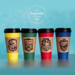 """Стаканы """"i♥Hogwarts"""" для SD и +70"""