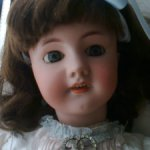 антикварная французская кукла DEP № 9.