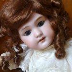 Антикварная французская кукла DEP