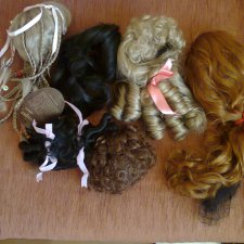 парики для кукол