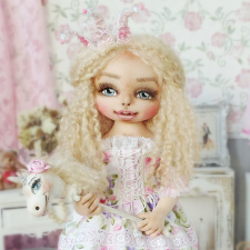 Принцесса Элиза, авторская кукла Моники Шонии