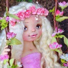 Любовь, авторская кукла Моники Шонии