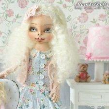 Девчата из соседнего двора, авторская кукла Моники Шонии