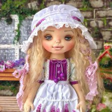 Аделина, авторская кукла Моники Шонии