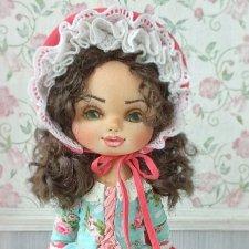 Матильда, авторская кукла Моники Шонии