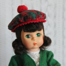 Куколка из серии «Страны мира» Шотландия от Madame Alexander