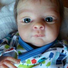 Малыш-Бин, куколка - реборн, Захаровой Татьяны
