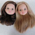 В продаже две головушки: Маника и Кэрол Паола Рейна. Цена за две с доставкой.