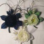 Цветы на шляпку