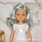 Кукла Лиу с серебристыми волосами от Paola Reina