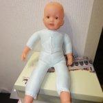 Кукла 65см без парика