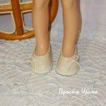 Туфельки для Паолочек, цвет беж