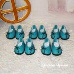Туфельки для Паолочек, цвет бирюза