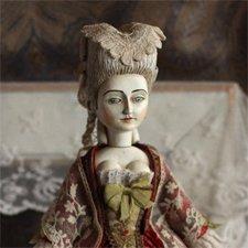 Marie, моя первая кукла в стиле French court Doll