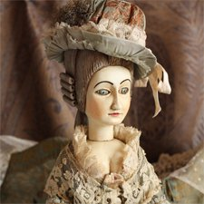 French Court Doll - французская придворная кукла