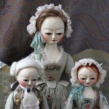 Queen Anne Doll взаимодействие кукол разных размеров