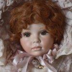 Фарфоровая кукла Judy Inman, 1999 год.