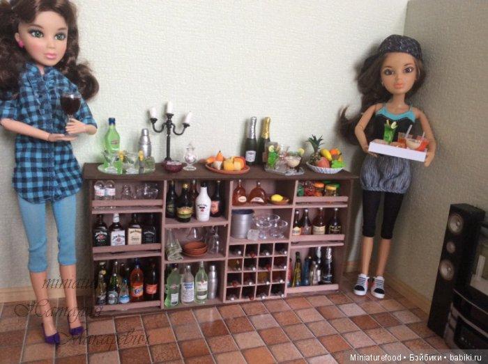 кукольные бутылочки