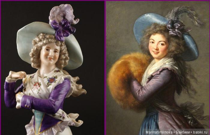 На производстве Ernst Bohne & Söhne (Sons), Рудольштадт/Тюрингия была изготовлена кукла-половинка, в которой удалось прекрасно передать форму лица, черты и цвет румяных щек красавицы Male Raymond.