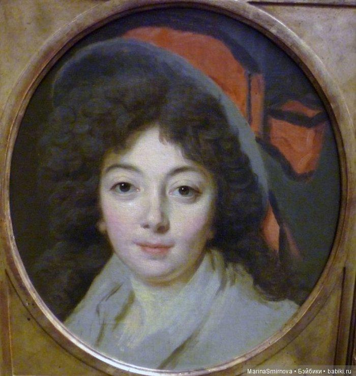Знаменитый портрет Mme. Male Raymond, красивой актрисы Комеди Франсез («Дама с муфтой»)