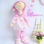 Опыт № 2. Текстильная кукла Танюша