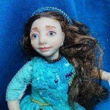 Наяда. Авторская шарнирная кукла