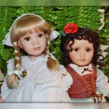 Нежные создания Линды Мейсон (Linda Mason) - Фарфоровые куклы