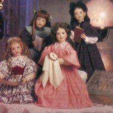 Коллекция фарфоровых кукол Wendy Lawton for The Ashton-Drake Galleries из серии Маленькие женщины