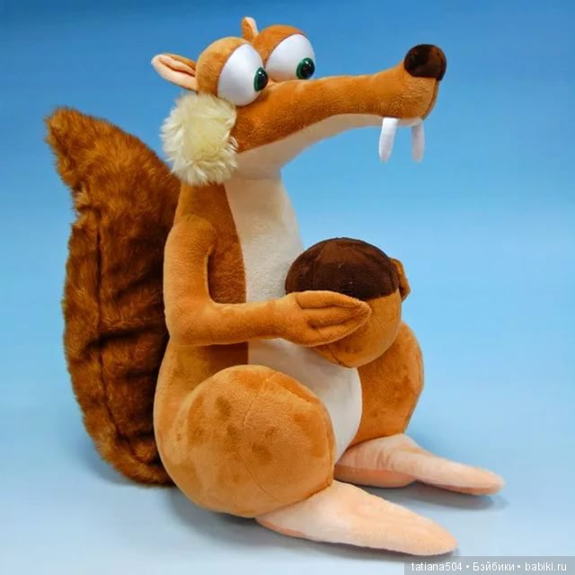 Ледниковый период игрушки ленивец дочери деми мур и брюса уиллиса таллула