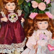 Две сестренки – мои куколки от Вирджиии Тернер
