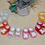 Туфельки с бантиками для малышек Карлотт де Азуль, Vestida de Azul