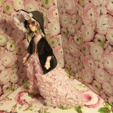 Авторская кукла из запекаемого пластика