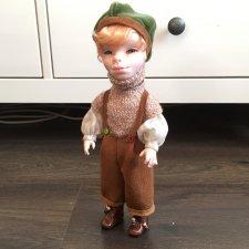Мальчик из fimo. Авторская кукла