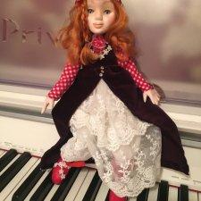 Авторская кукла, Паперклей