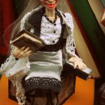 Авторская кукла. Бабушка Прасковья