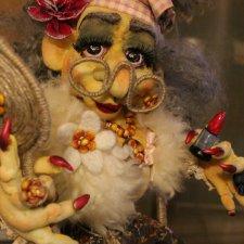 Куклы Атаманчук Анжелики за 2015 г, скульптурный текстиль