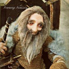 Авторские куклы Викинги Севера