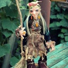 Бабуля-Ягуля Красотуля. Авторская кукла