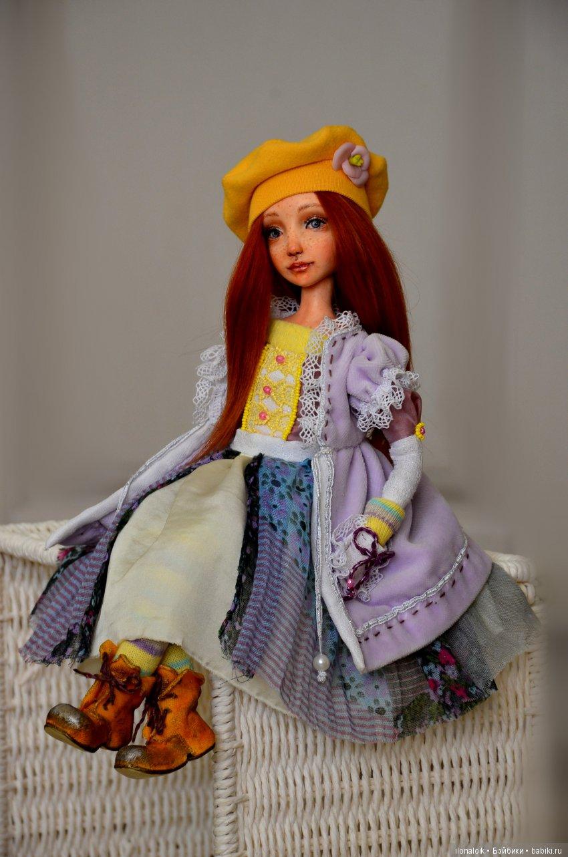 авторская кукла Шарлота