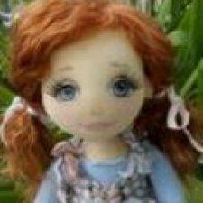 Элли, авторская текстильная куколка