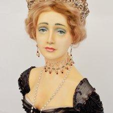 Друзья, хочу познакомить вас с одной из кукол из фарфора, созданных мной