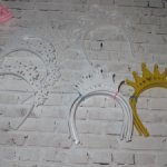 Ободки, короны для  кукол Готц, Сой Ту Паола Рейна, Фенсийки