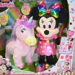 Минни Маус и ее танцующая Единорог Пенелопа, интерактивная игрушка. Дисней. Оригинал