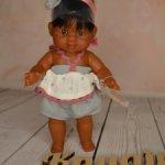Пупс паолитас девочка Флори от Паола Рейна с прямыми ножками! Снята с производства!