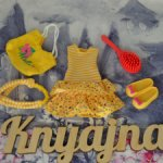 Фирменный аутфит для Крузелинг (Kruseling) желтый летний