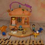 Микро домик Жасмин,  от Дисней, со светом и музыкой