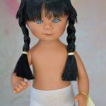 Новинка! Мариетта с синими глазками, толстыми косичками, серия Лаос. Кармен Гонзалес.