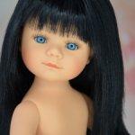 Мариетта брюнетка с челочкой и синими глазками от Кармен Гонзалес
