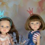 """Ободки """"корона Принцессы"""" на кукол Паола Рейна и пободных. Новые цвета!"""